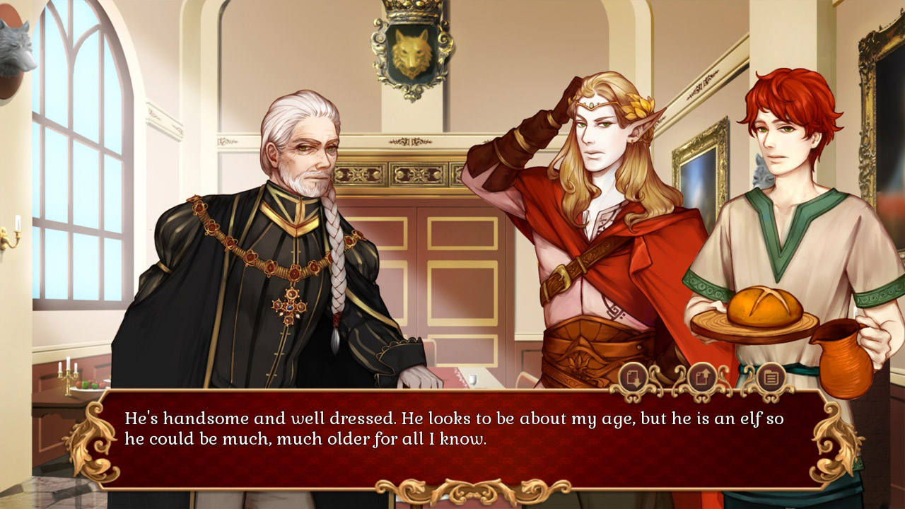 eloy Yaoi Dating Sim Heirs & Graces Launched