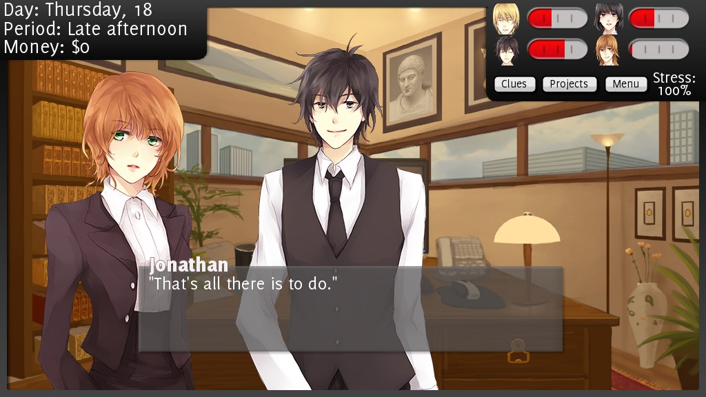 online dating sim