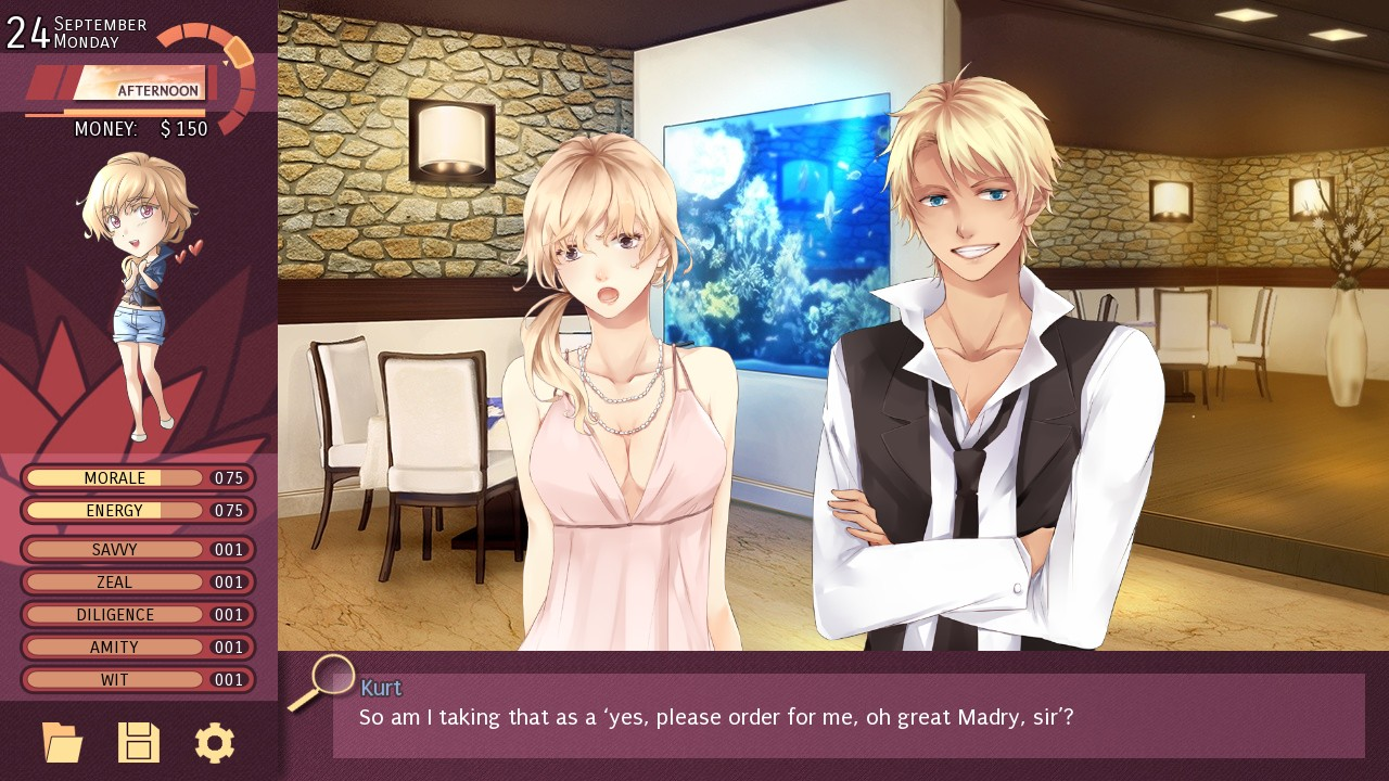 Yuri dating sim online