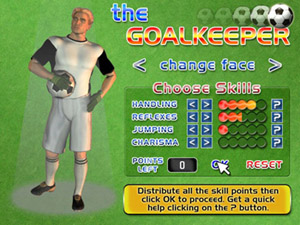 order the goalkeeper pc / mac game