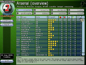 universal soccer manager 2 pc / mac game
